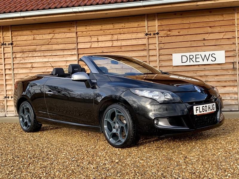Used Renault Megane GT DCI Convertible Sat Nav Full Leather Big Spec in Berkshire
