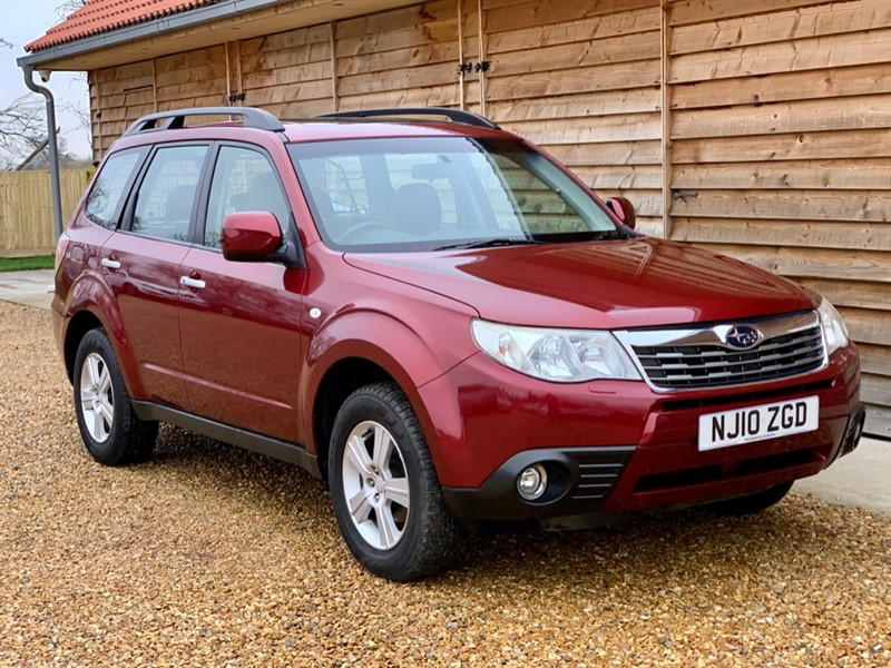 Used Subaru Forester 2.0 XS Petrol Leather Heated Seats in Berkshire