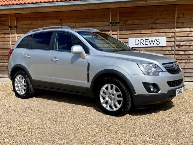 Used Vauxhall Antara Exclusiv 2.2 CDTI Automatic Full Service History Just Serviced in Berkshire