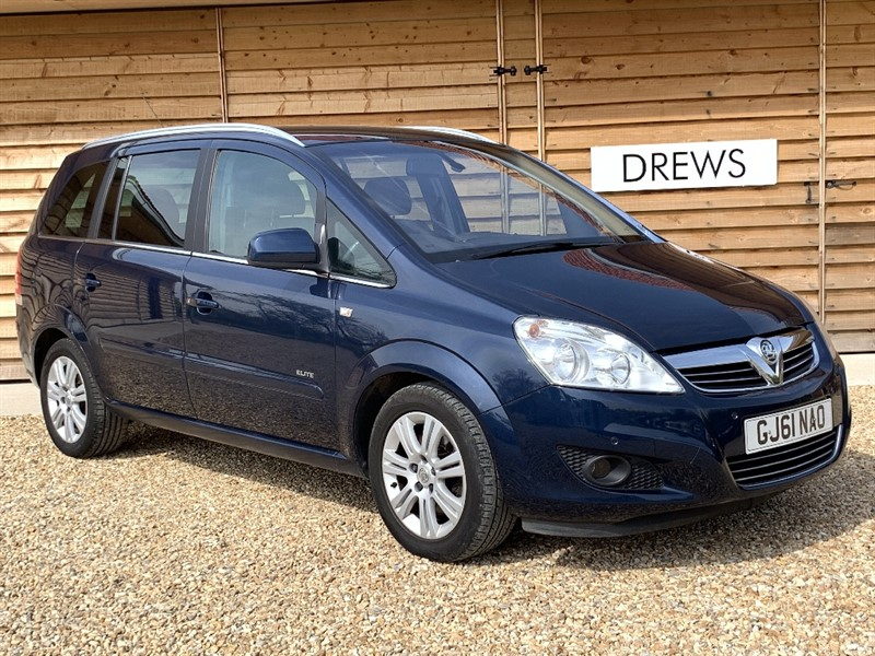 Used Vauxhall Zafira ELITE CDTI ECOFLEX 1.7 Heated Leather Seats in Berkshire