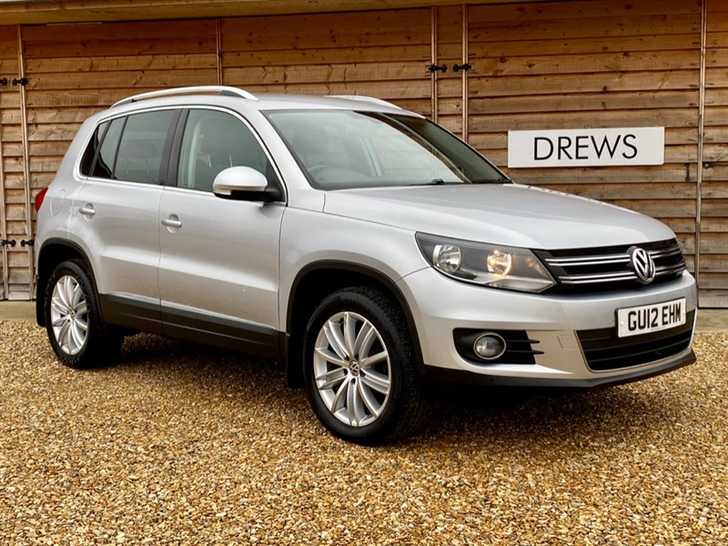 Used VW Tiguan 2.0 Petrol SPORT TSI 4MOTION Just Serviced New MOT factory Bluetooth in Berkshire