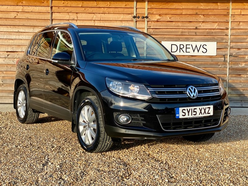 Used VW Tiguan MATCH 2.0 TDI  4MOTION Sat Nav Front And Rear Parking in Berkshire