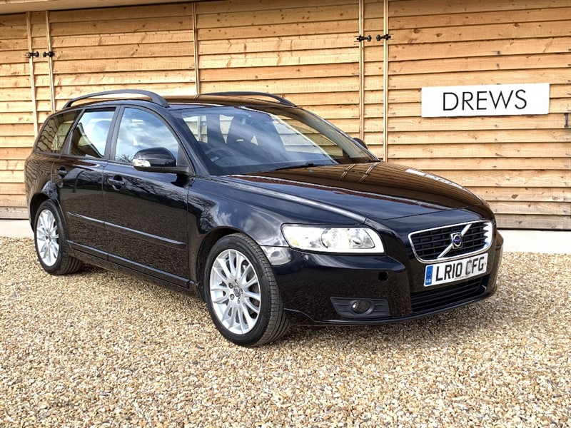Used Volvo V50 D DRIVE SE One Owner 7 Volvo Services 20 Road Tax 72 MPG Comb in Berkshire