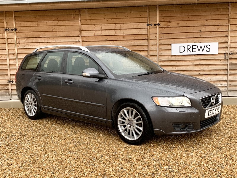 Used Volvo V50 D DRIVE SE LUX £20 Tax One Owner Full Leather in Berkshire