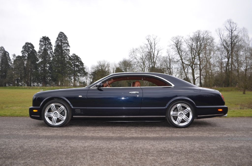 Used Black Saphire Metalic Bentley Brooklands For Sale