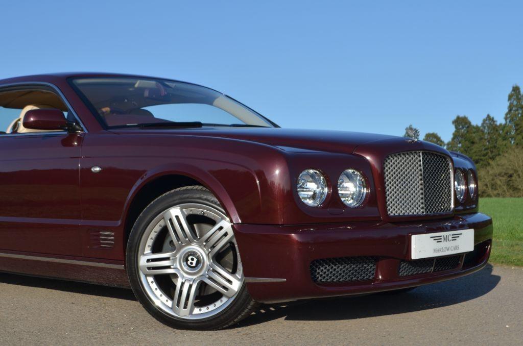 Used BURGUNDY METALLIC Bentley Brooklands For Sale ...
