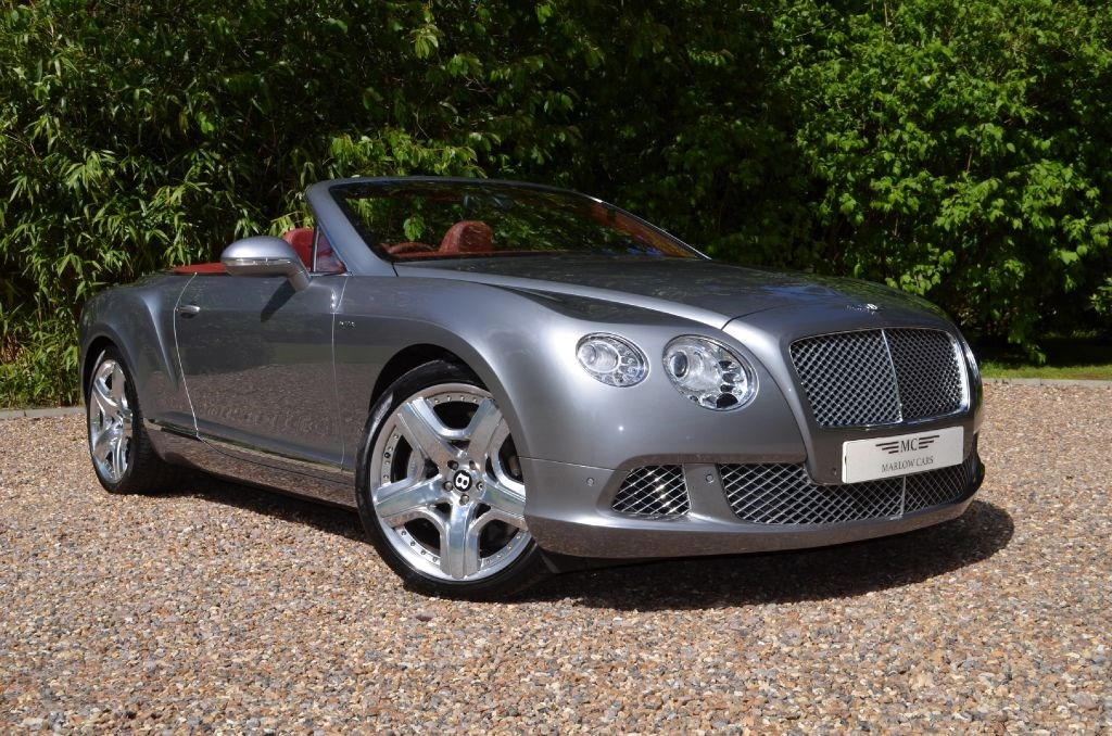 used hallmark silver bentley continental gtc for sale buckinghamshire. Black Bedroom Furniture Sets. Home Design Ideas