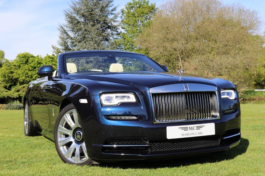 Used Midnight Sapphire Blue Rolls Royce Dawn For Sale