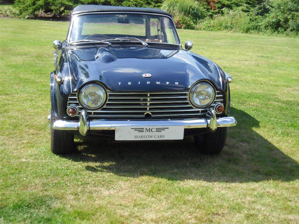 Used Blue Triumph TR4 For Sale   Buckinghamshire