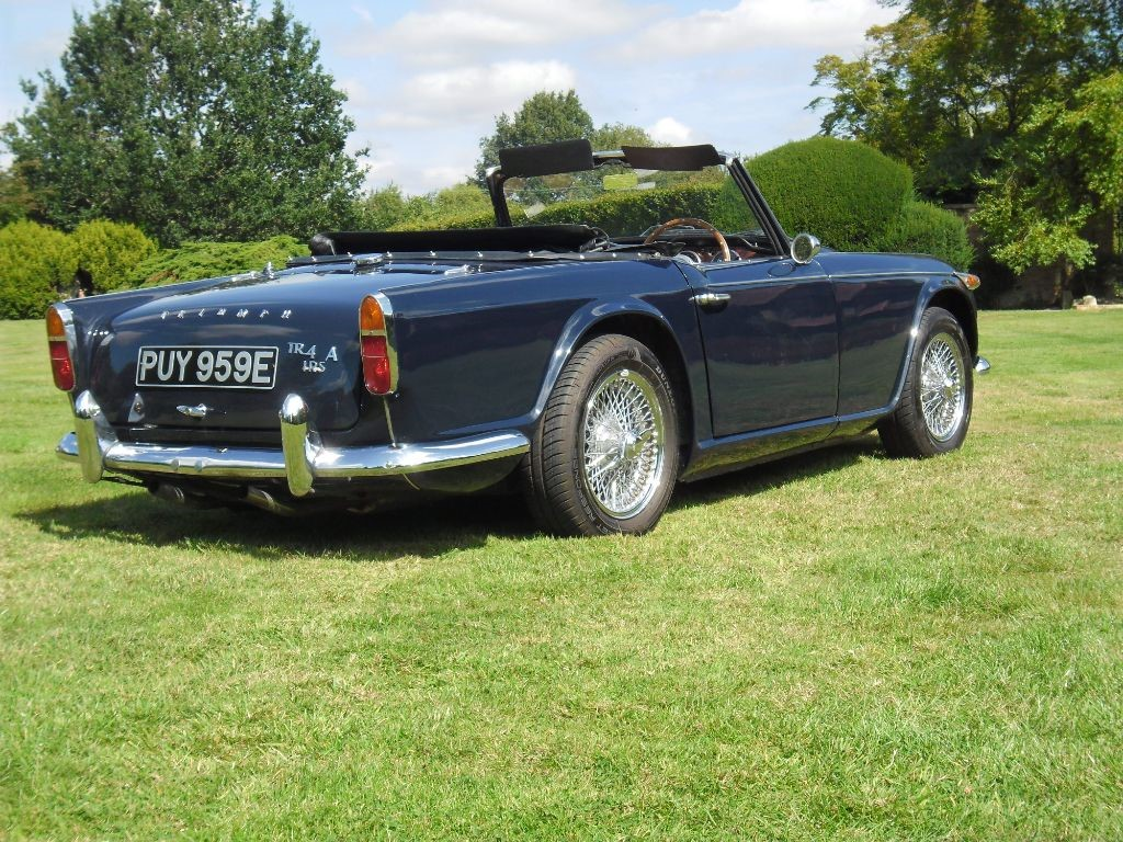 Used Blue Triumph TR4 For Sale | Buckinghamshire