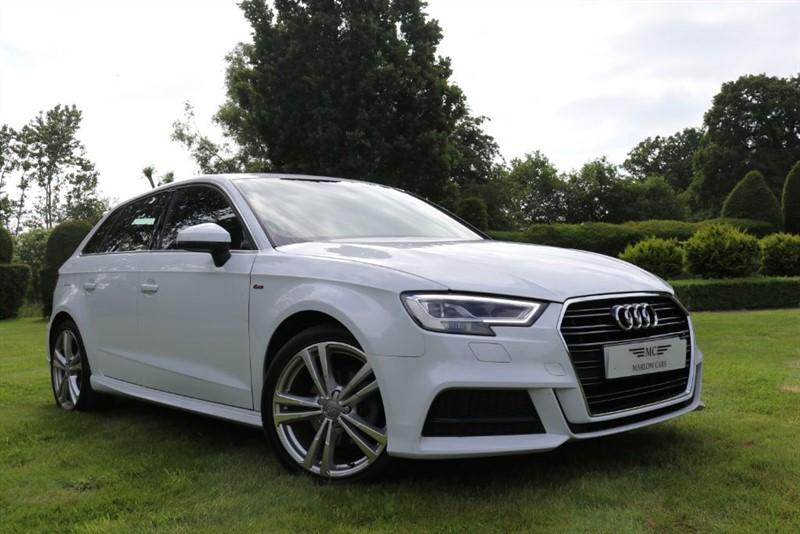 used Audi A3 TDI S LINE in marlow-buckinghamshire