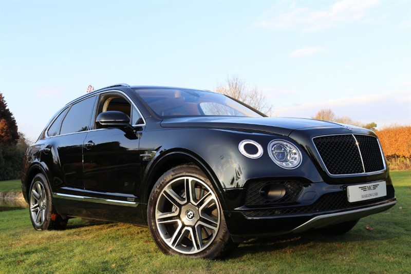 used Bentley Bentayga V8 D MULLINER in marlow-buckinghamshire