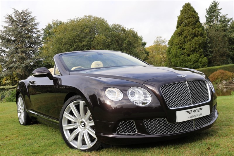 used Bentley Continental GTC Mulliner W12 in marlow-buckinghamshire