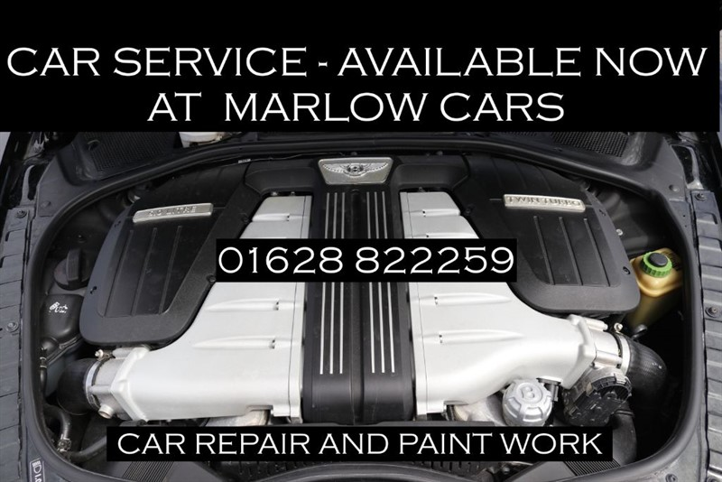 used Bentley Continental servicing in marlow-buckinghamshire