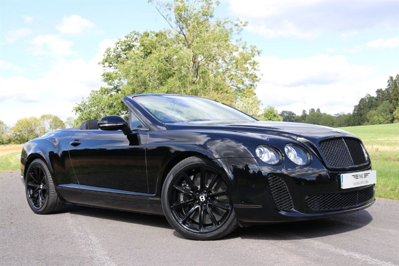 used Bentley Continental Supersports GTC in marlow-buckinghamshire