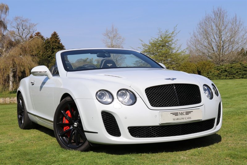 used Bentley Continental Supersports GTC SUPERSPORTS in marlow-buckinghamshire