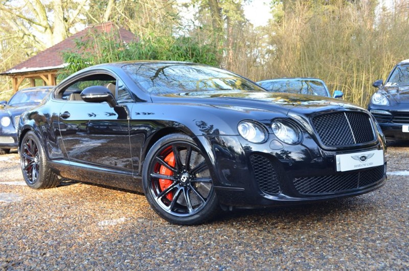 used Bentley Continental Supersports  in marlow-buckinghamshire