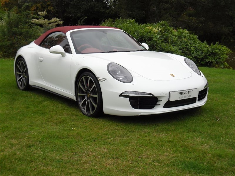 used Porsche 911 CARRERA 4S PDK in marlow-buckinghamshire