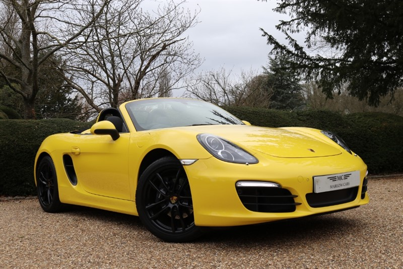used Porsche Boxster 24V PDK in marlow-buckinghamshire