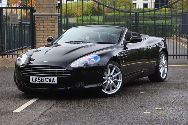 used Aston Martin DB9 V12 VOLANTE in battersea-south-london