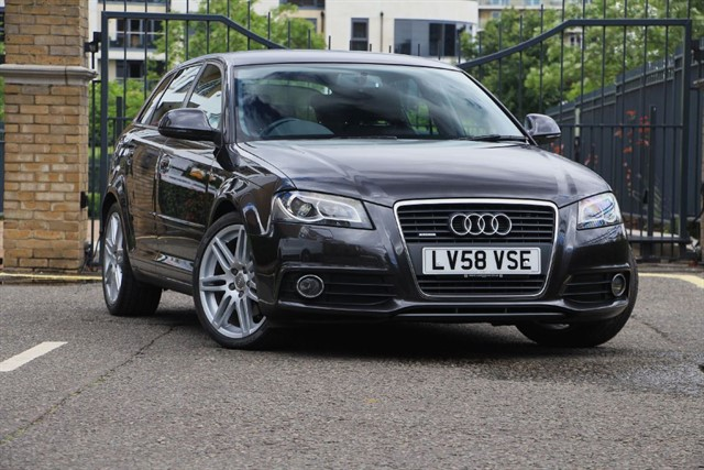 used Audi A3 TFSI QUATTRO S LINE in battersea-south-london