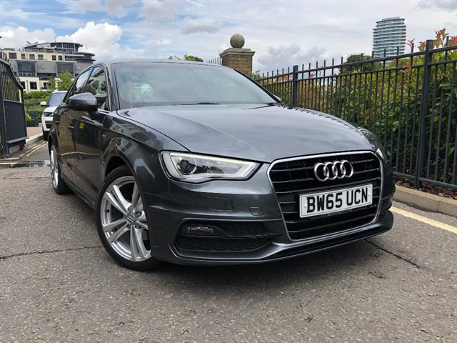 used Audi A3 TDI S LINE NAV in battersea-south-london
