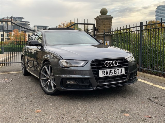 used Audi A4 AVANT TFSI QUATTRO S LINE BLACK ED NAV in battersea-south-london