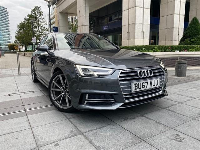 used Audi A4 AVANT TFSI S LINE in battersea-south-london
