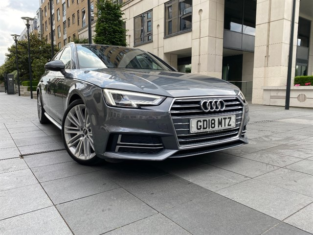 used Audi A4 AVANT 2.0TFSI  190BHP S LINE TIP in battersea-south-london