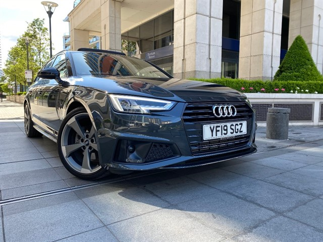 used Audi A4 AVANT TFSI S LINE BLACK EDITION in battersea-south-london