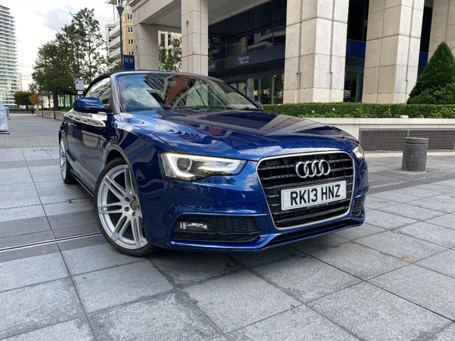 used Audi A5 TFSI S LINE in battersea-south-london