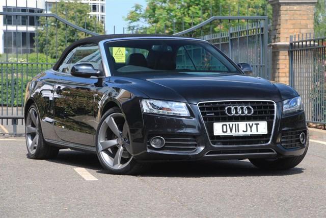 used Audi A5 TDI QUATTRO S LINE in battersea-south-london