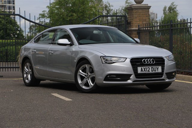 used Audi A5 SPORTBACK TDI QUATTRO SE in battersea-south-london