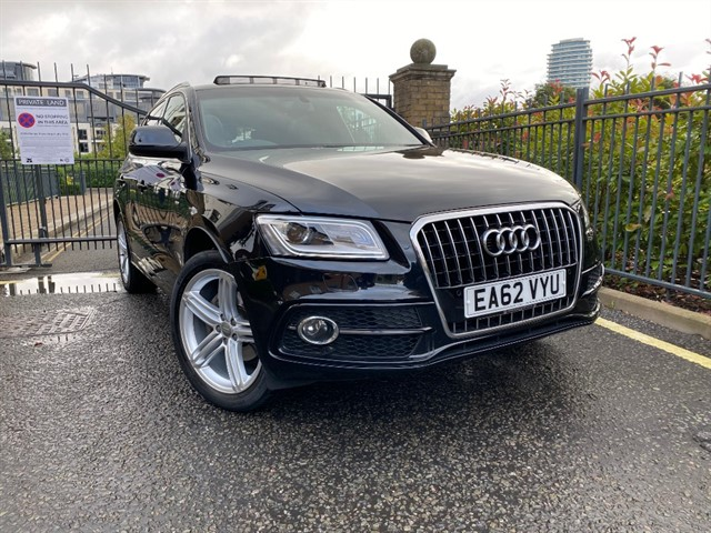 used Audi Q5 TFSI QUATTRO S LINE PLUS in battersea-south-london