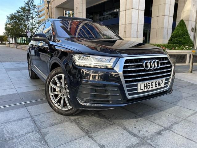 used Audi Q7 TDI QUATTRO S LINE in battersea-south-london