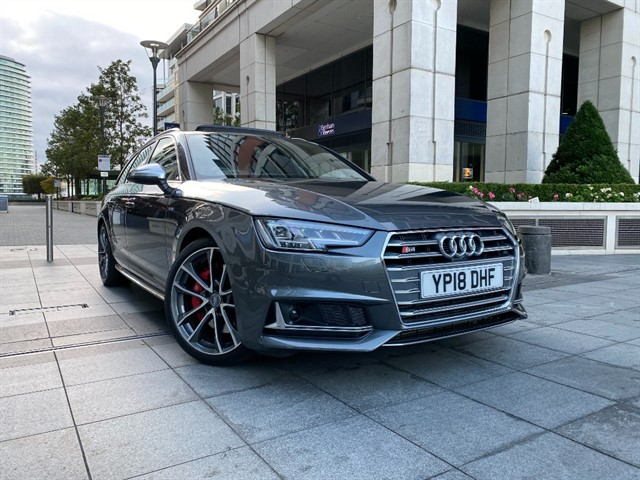 used Audi S4 TFSI QUATTRO AVANT in battersea-south-london