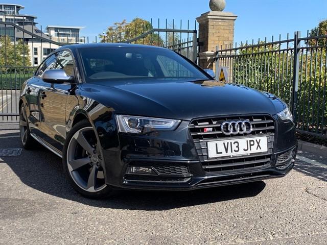 used Audi S5 SPORTBACK TFSI QUATTRO BLACK EDITION in battersea-south-london