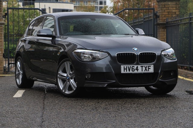 used BMW 118d M SPORT in battersea-south-london