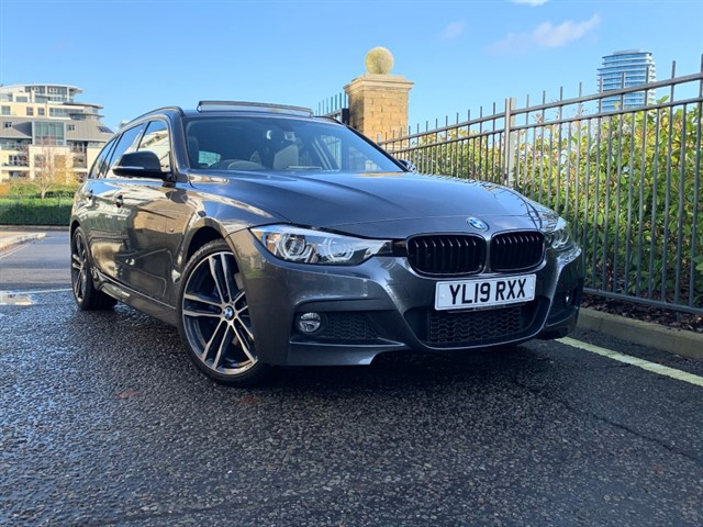 used BMW 320i M SPORT SHADOW EDITION TOURING in battersea-south-london