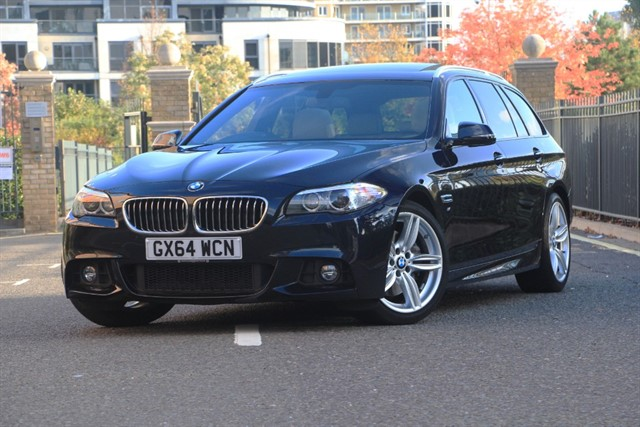 used BMW 530d M SPORT TOURING in battersea-south-london