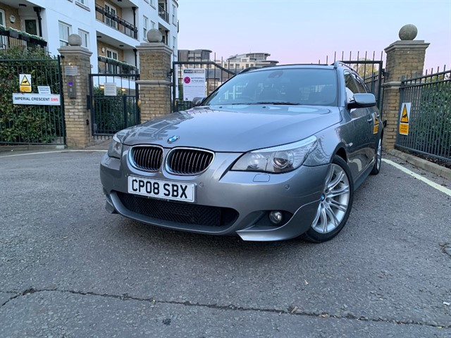 used BMW 535d M SPORT TOURING in battersea-south-london