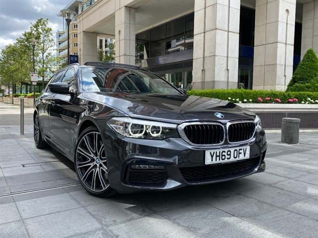 used BMW 540i XDRIVE M SPORT TOURING in battersea-south-london