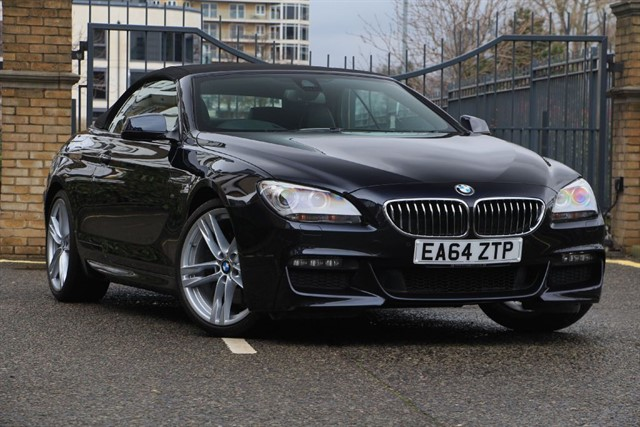 used BMW 640d M SPORT in battersea-south-london
