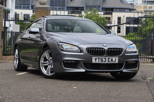 used BMW 640d M SPORT GRAN COUPE in battersea-south-london