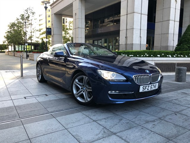 used BMW 650i SE in battersea-south-london