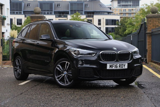 used BMW X1 XDRIVE25D M SPORT in battersea-south-london