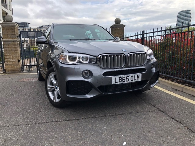 used BMW X5 XDRIVE40D M SPORT in battersea-south-london