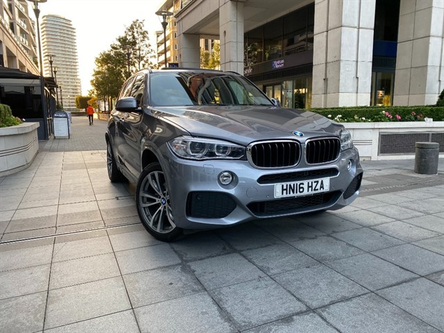 used BMW X5 XDRIVE30D M SPORT in battersea-south-london