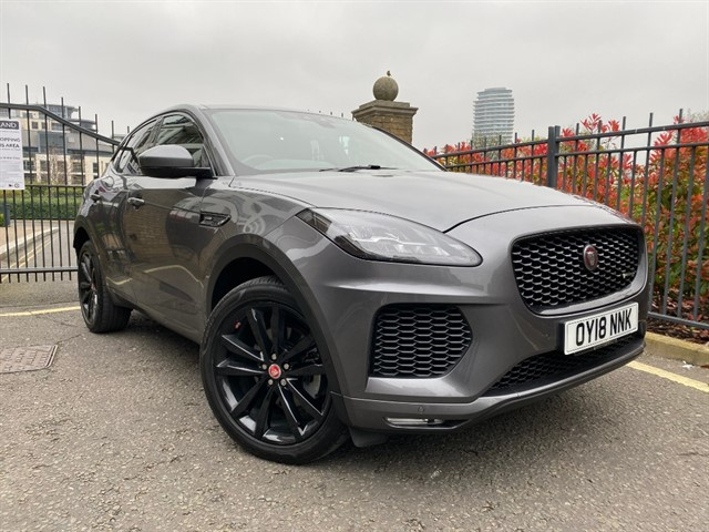 used Jaguar E-Pace E-PACE R-DYNAMIC HSE in battersea-south-london