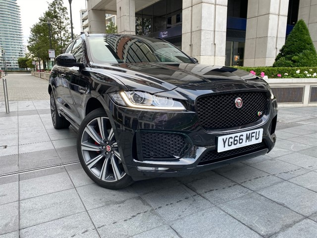 used Jaguar F-Pace V6 S AWD in battersea-south-london